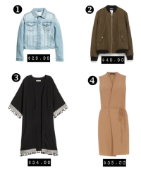 Best Spring Outerwear Under $50...